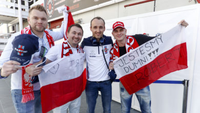 Robert Kubica testy