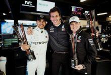 Valtteri Bottas - Lewis Hamilton - Toto Wolff - Mercedes