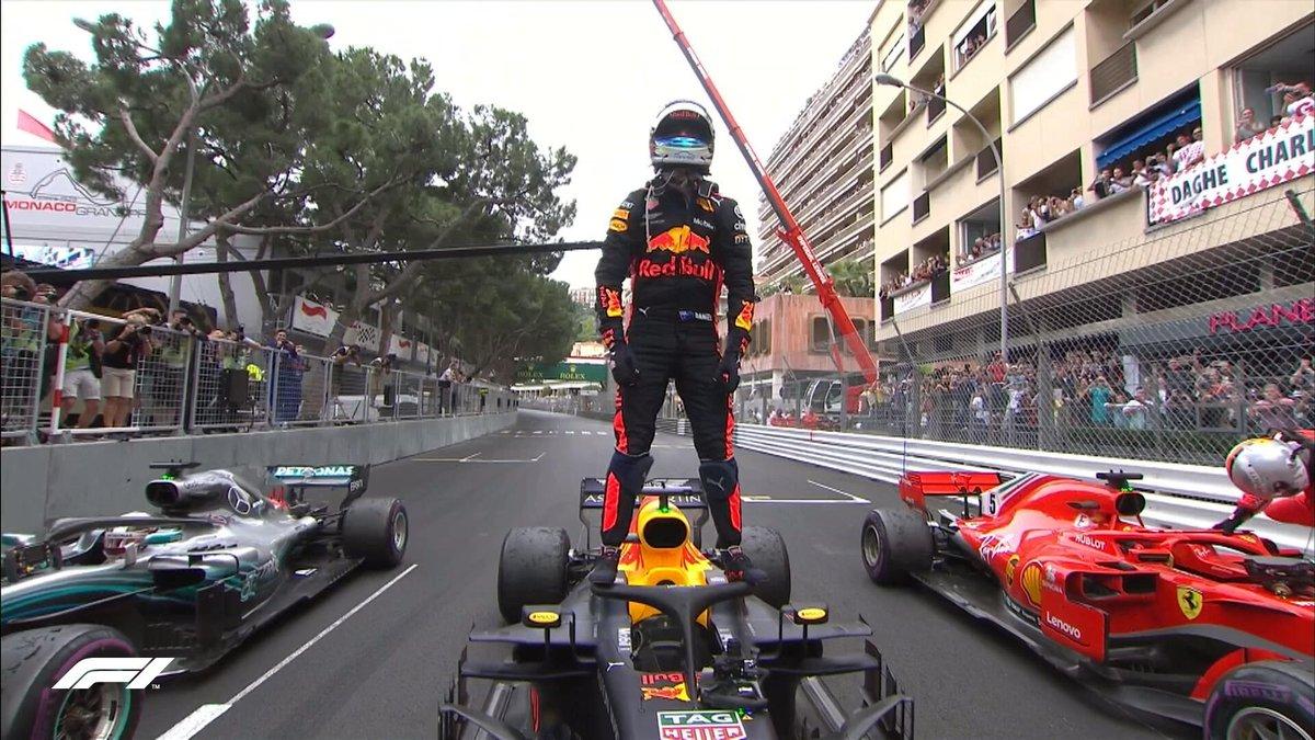 Daniel Ricciardo zwycięzcą GP Monaco 2018