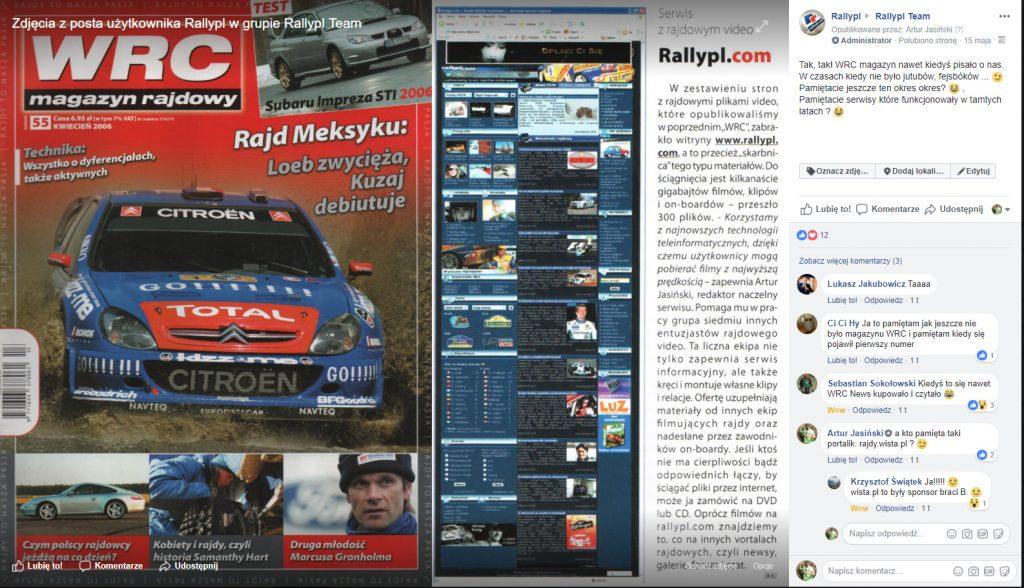 magazyn rajdowy WRC