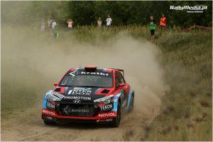 Łukasz Byśkiniewicz, Maciej Wisławski, Hyundai i20 R5, Rajd Nadwiślański 2018, RSMP, rajdy samochodowe, rally, TVN Turbo
