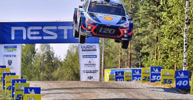 Klasyfikacja WRC - Neuville Rajd Finlandii