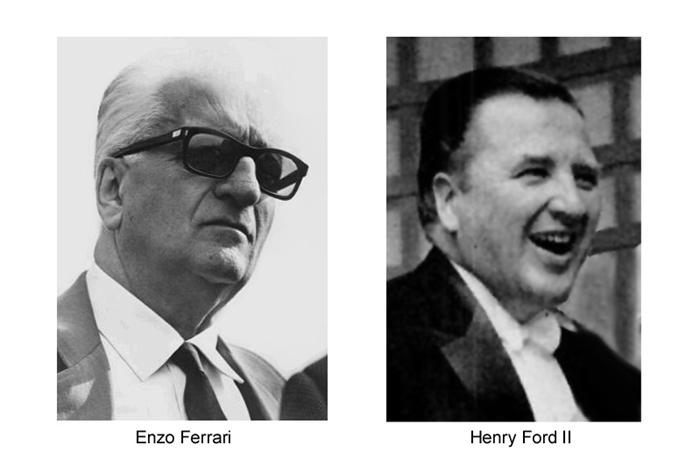 Enzo Ferrari vs Henry Ford - Le Mans