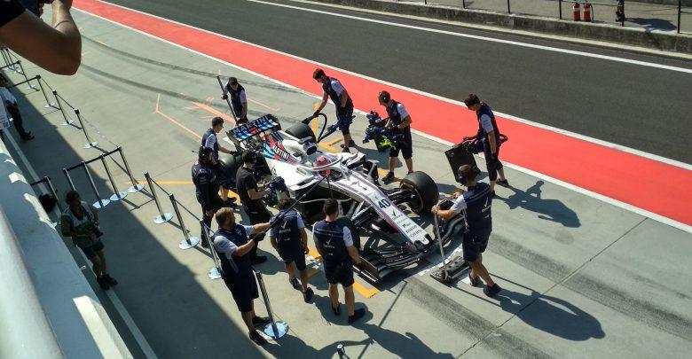 Robert Kubica - testy Hungaroring