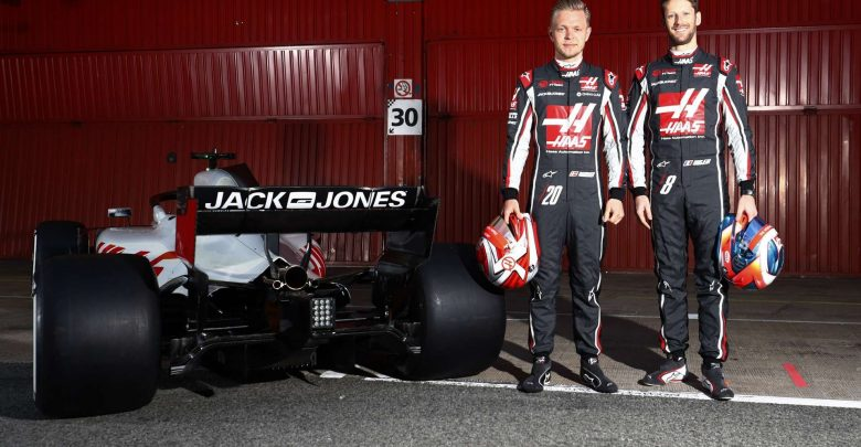 Haas F1 Team - Magnussen i Grosjean