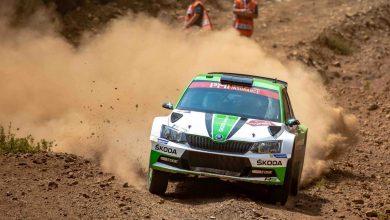 OS5 Rajd Turcji 2018 WRC2 - Skoda