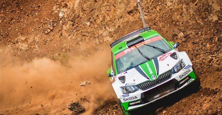 OS7 Rajd Turcji 2018 WRC2 - Skoda