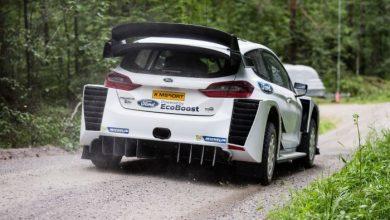 Ford Fiesta WRC dyfuzor