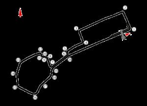 GP Azerbejdżanu 2019 - tor baku