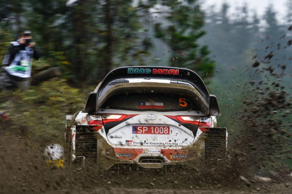 Ott Tanak - Toyota Yaris WRC - Rajd Chile 2019