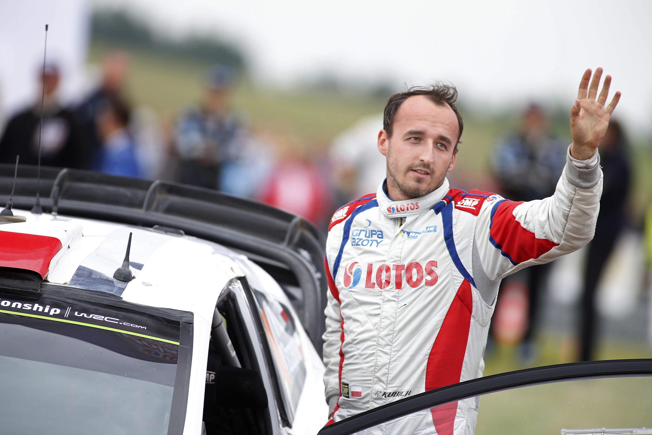 Robert Kubica 2014 World Rally Championship / Round 07 / Rally Poland // Worldwide Copyright