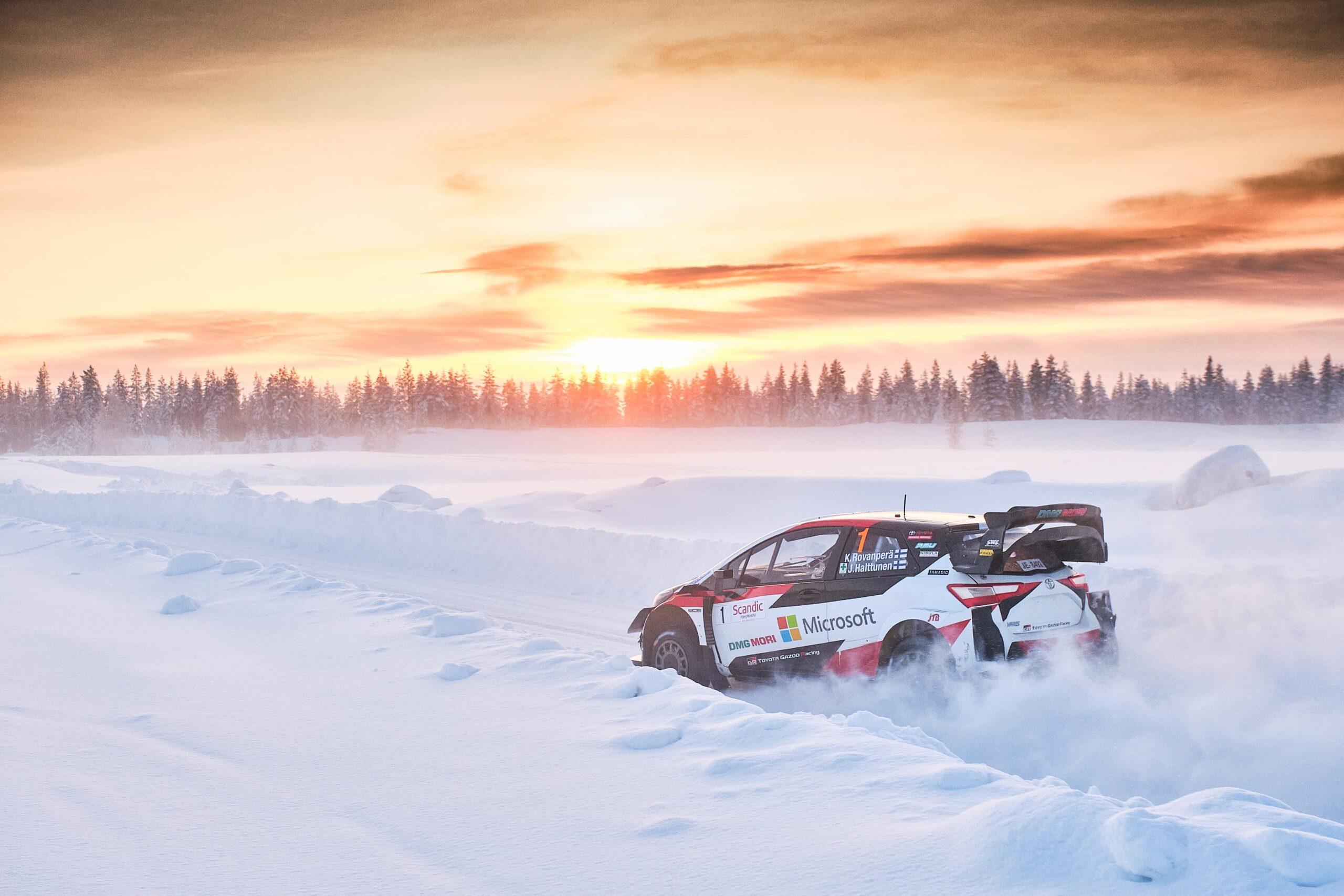 Rajd Arktyczny WRC 2021