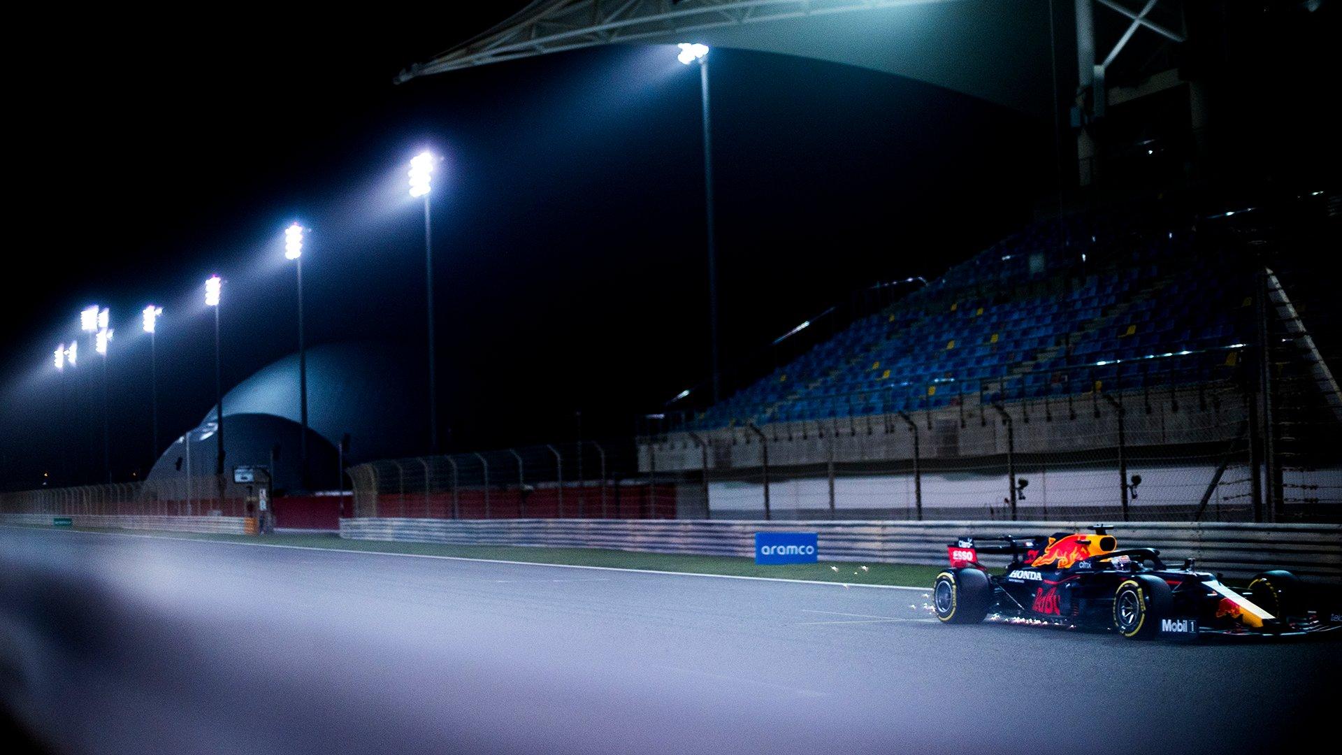 RBR, testy f1, bahrajn