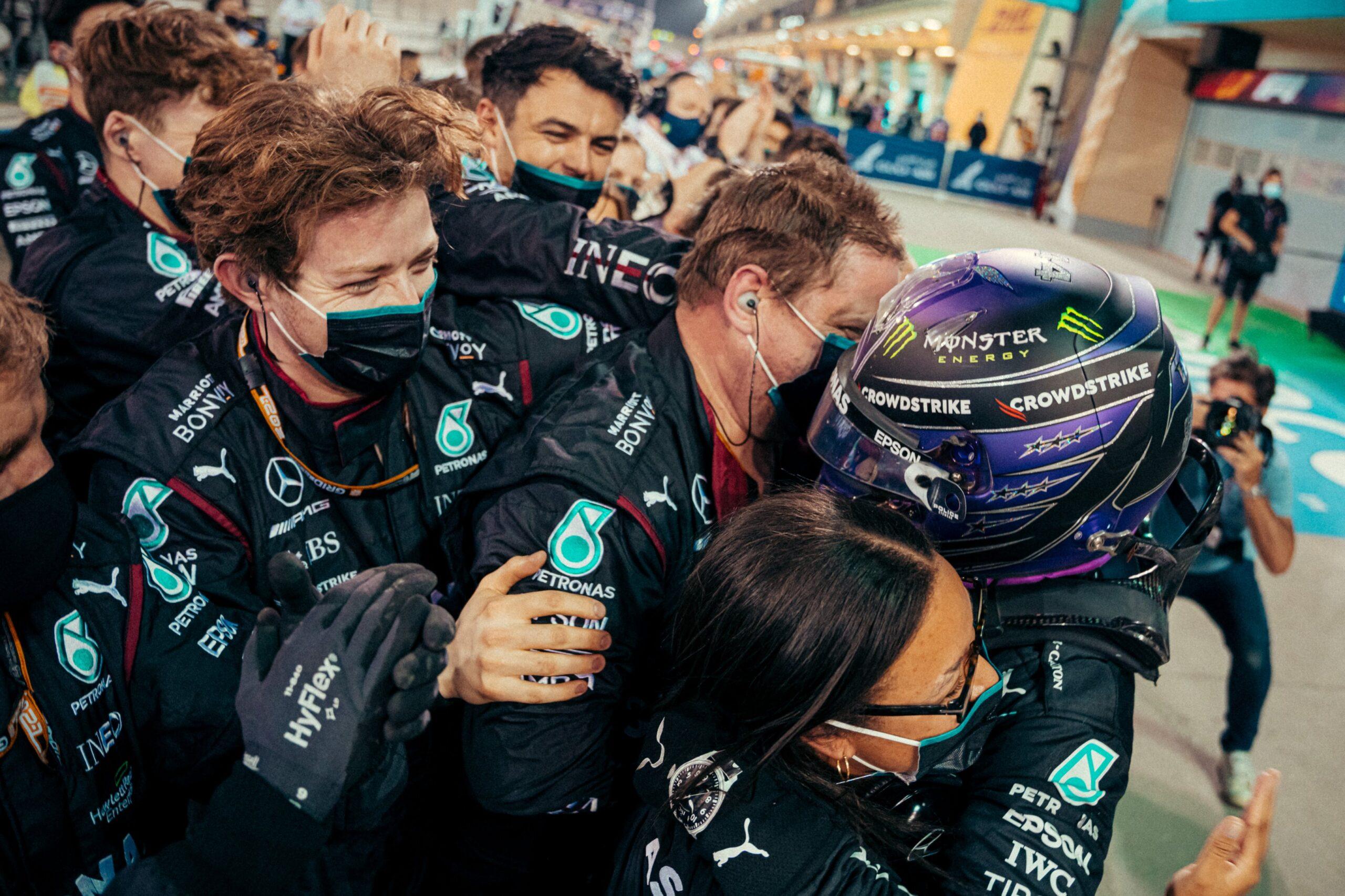 Mercedes, Wolff, Bahrajn