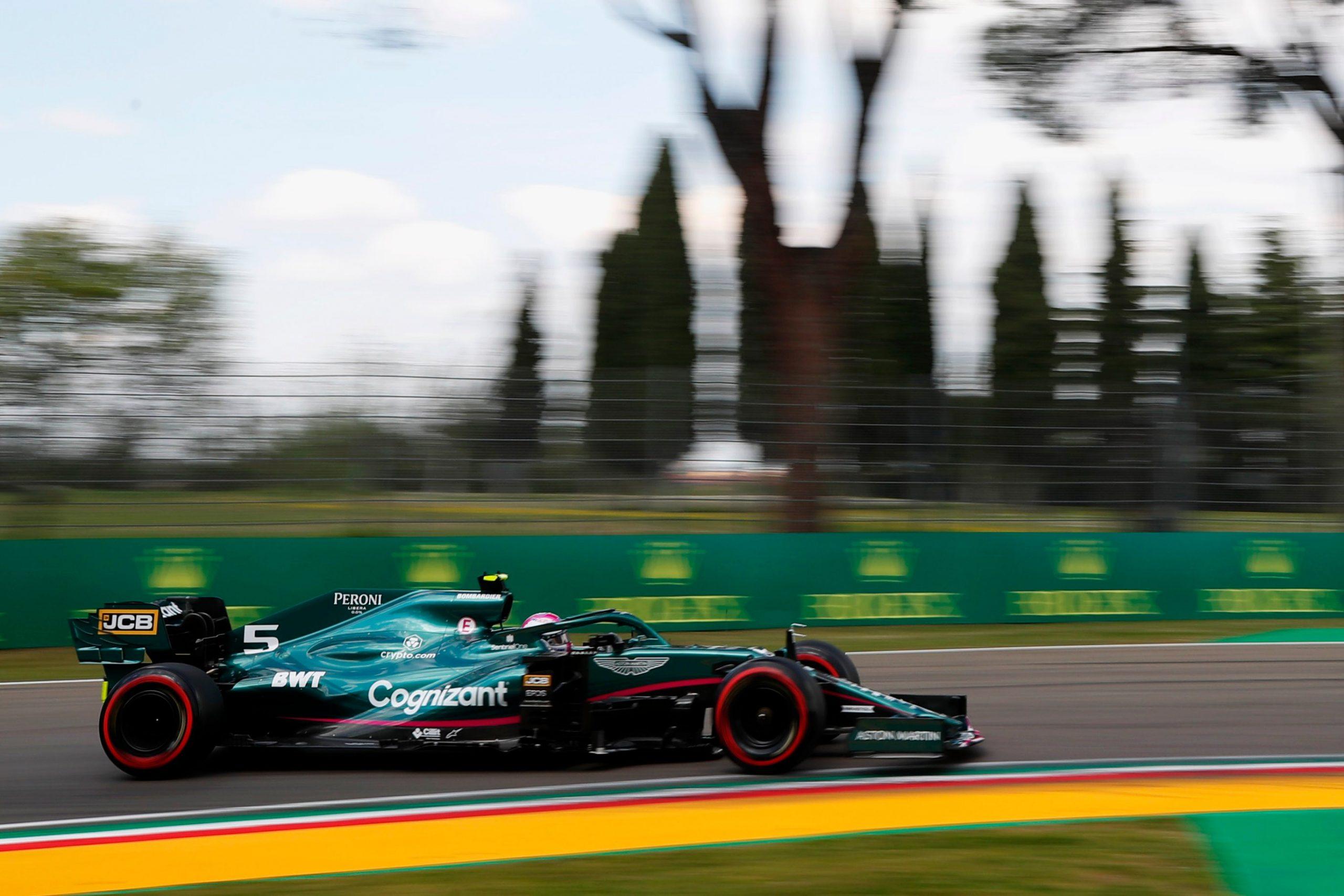 Vettel, GP Emilli-Romanii