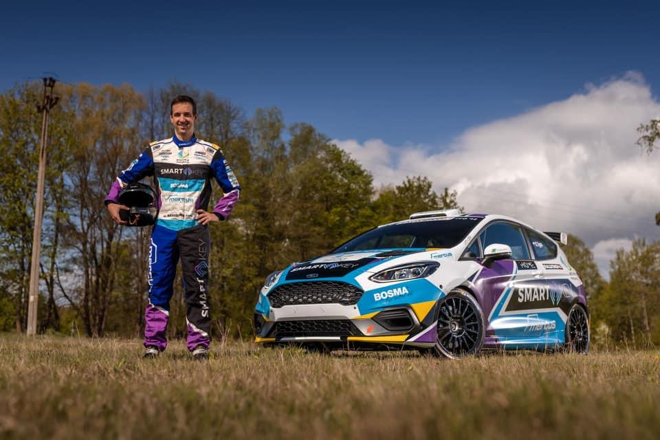 Radek Typa - Prezentacja Forda Fiesty Rally3