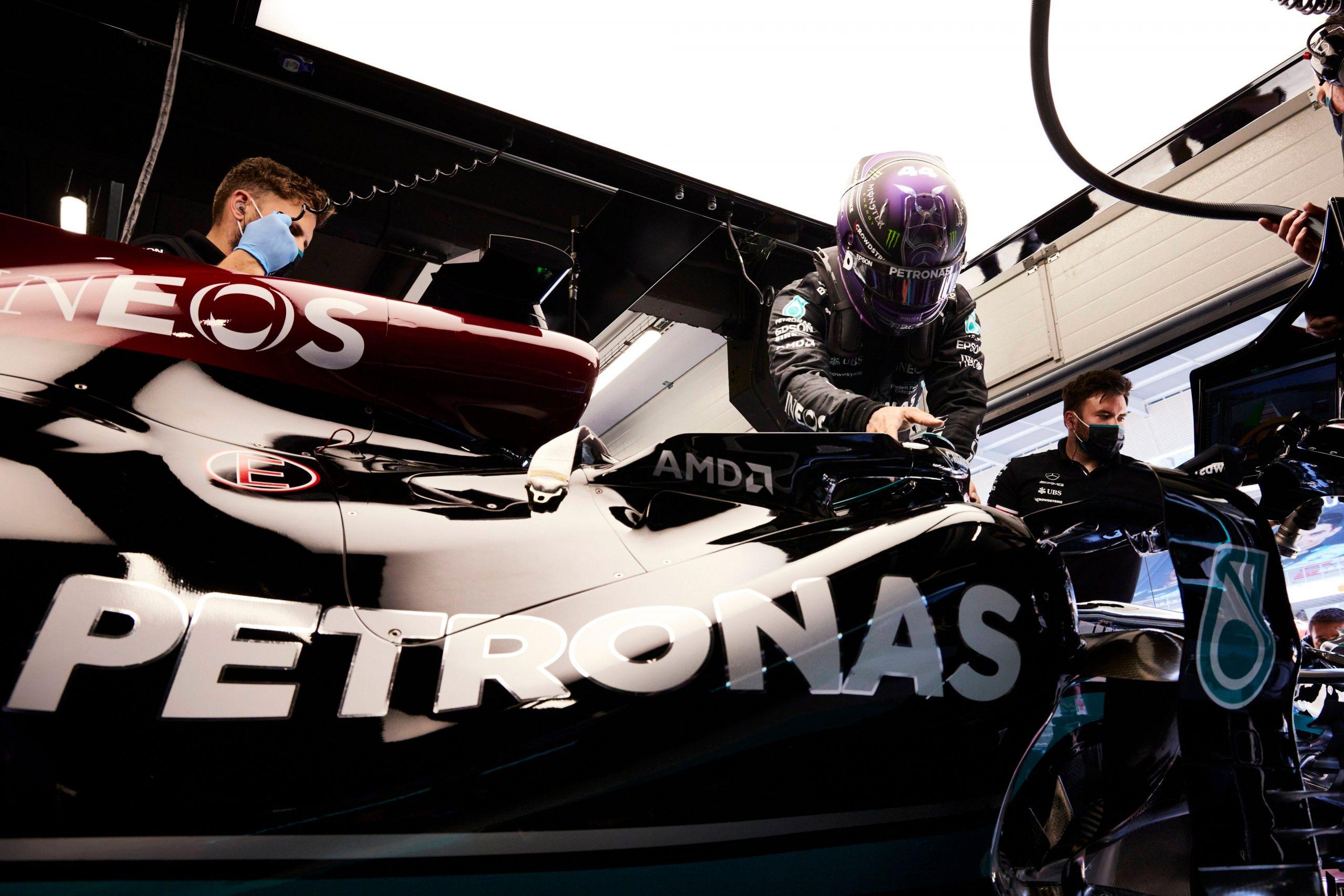 Hamilton, GP Hiszpanii