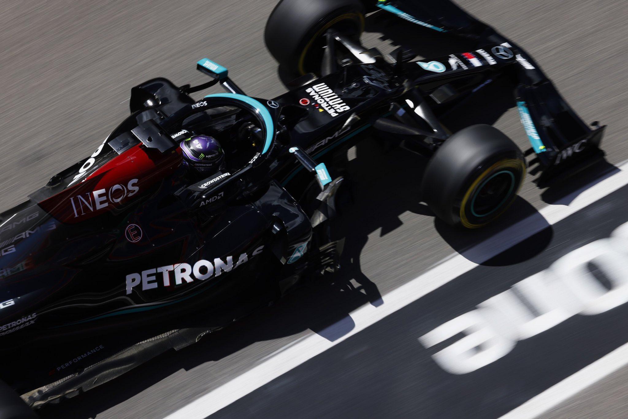 GP Portugalii, Hamilton