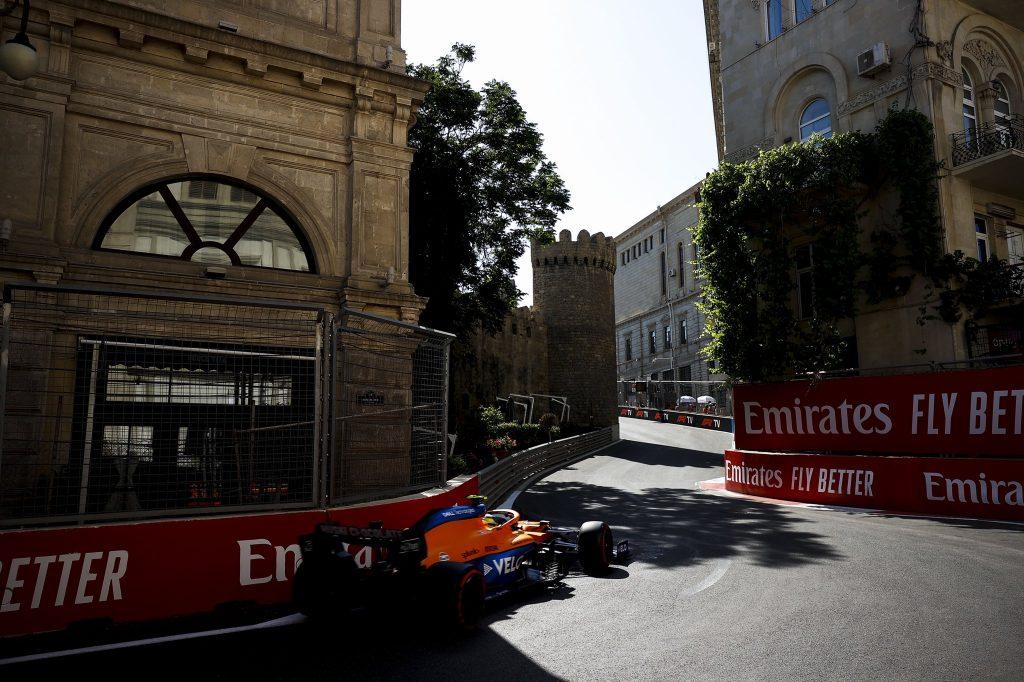 McLaren, GP Azerbejdżanu