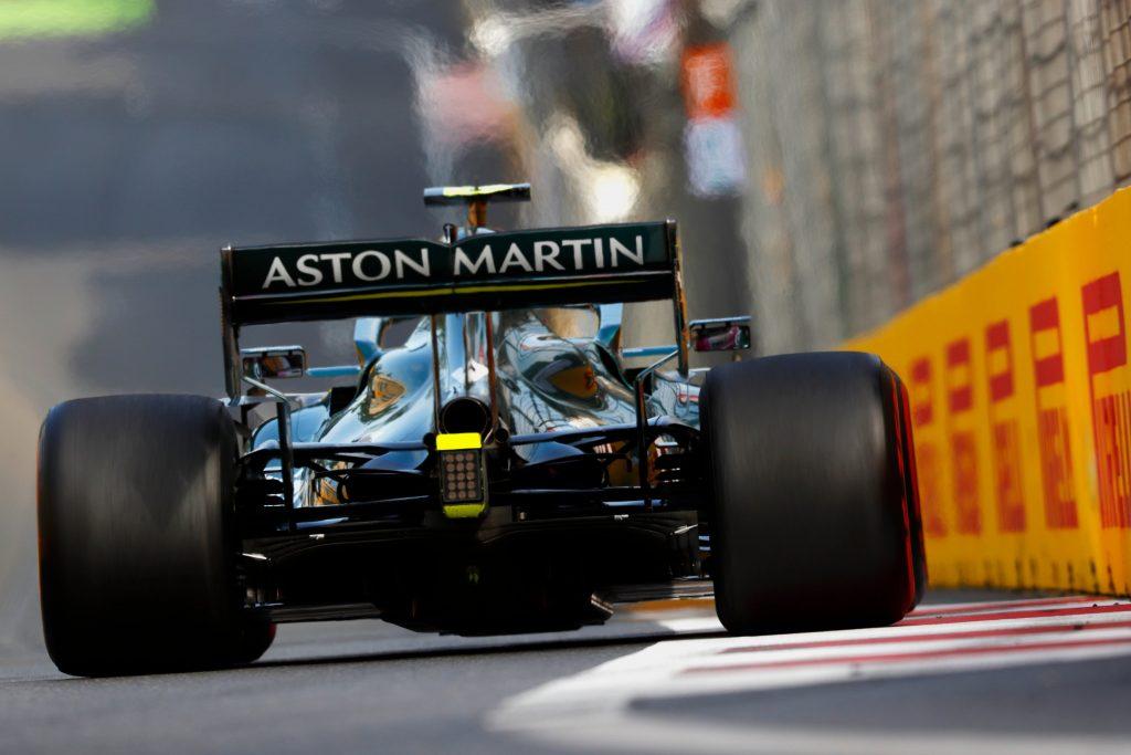 GP Azerbejdżanu, Aston Martin