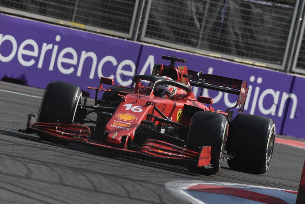GP Azerbejdżanu, Leclerc