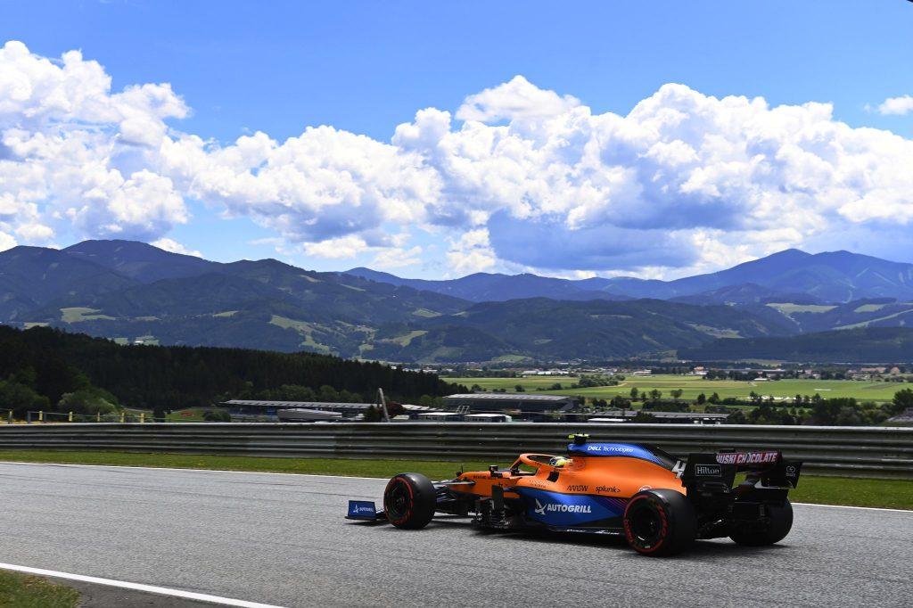 GP Styrii, McLaren