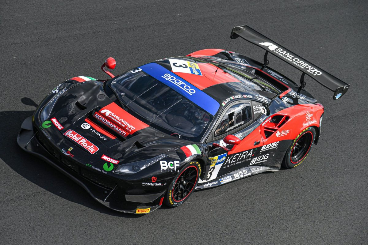 Karol Basz Mancinelli Daniel-Greco Matteo-Hoffer Max, Ferrari 488 Evo GT3 PRO #3, Easy Race